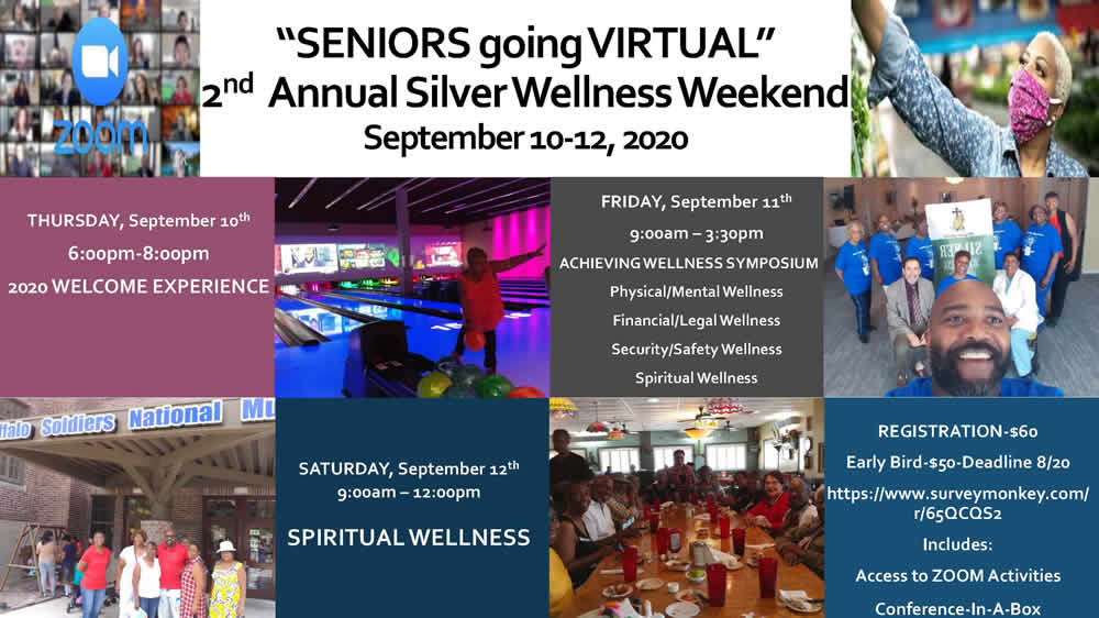 Seniors Going Virtual 2nd Annual Silver Wellness Weekend